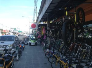 bicycle shop in thailand
